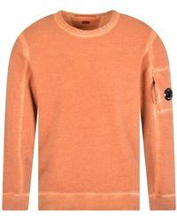 C.P. Company Burnt Ochre Sweatshirt - Orange