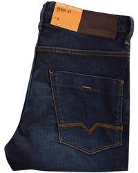 BOSS Orange | Orange 63 Navy Slim Fit Denim Jeans | Lyst