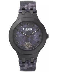 Versace - Camo Black Versace Vsp350317 Watch - Lyst