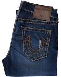 True Religion - Street Vice Geno Relaxed Slim Jeans - Lyst