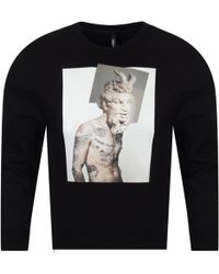 Neil Barrett Graphic Print Sweatshirt - Black