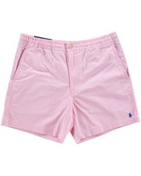 Polo Ralph Lauren - Pink Stretch Shorts - Lyst