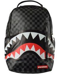 Sprayground Black Sharks In Paris Backpack - Gray