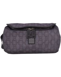 BOSS by Hugo Boss Black Pixel Monogram Wash Bag