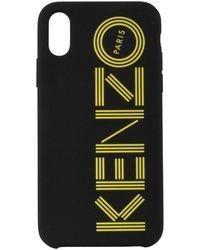 KENZO Black/yellow Iphone X/xs Logo Phone Case