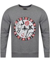 Vivienne Westwood - Grey Roulette Sweatshirt - Lyst