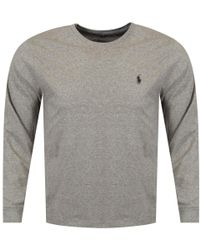Polo Ralph Lauren Polo Grey Long Sleeve T-shirt - Gray