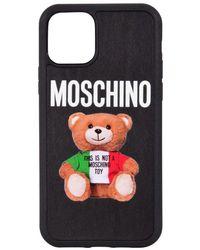 Moschino Black Teddy Print Iphone 11 Pro Case