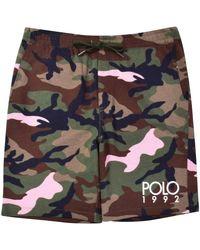 Polo Ralph Lauren Camo 1992 Shorts - Green