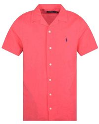 Polo Ralph Lauren Red Logo Polo Shirt
