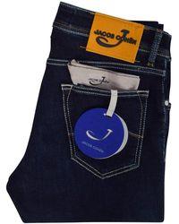 Jacob Cohen J622 Comfort Fit Dark Blue Jeans