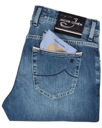 Jacob Cohen Blue Limited Edition J622 Jeans