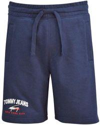 Tommy Hilfiger Twilight Navy Logo Shorts - Blue