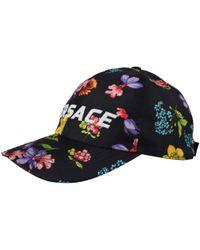 Versace Floral Silk Baseball Cap - Black
