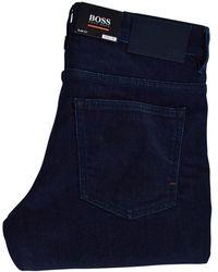 BOSS by Hugo Boss - Dark Wash Slim Jeans - Lyst