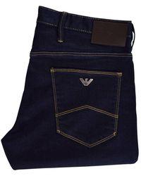 Emporio Armani Denim Blue J06 Slim Jeans