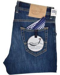 Jacob Cohen - Mid Blue J622 Slim Jeans - Lyst
