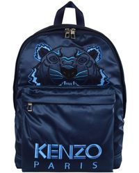 KENZO - Large Satin Tiger Backpack 'holiday Capsule' - Lyst