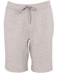 Polo Ralph Lauren Gray Heather Jersey Jogger Shorts