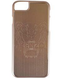KENZO Gold Tiger Iphone 7 Case - Metallic
