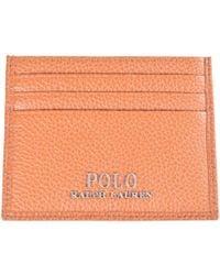 Polo Ralph Lauren - Brown Card Holder - Lyst