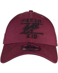 Fresh Ego Kid Burgundy/black New Era Baseball Cap - Purple