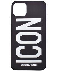 DSquared² Icon Iphone 11 Pro Max Cover - Black