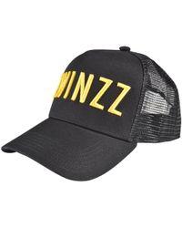 77bb0aaa5c4 Twinzz Lightning Script Trucker Cap in Black for Men - Lyst