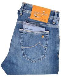 Jacob Cohen Mid-blue Limited Edition J622 Jeans