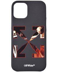 Off-White c/o Virgil Abloh Caravaggio Graphic-print Iphone 12 Mini Case - Black