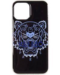 KENZO Black/blue Motif Iphone 12 Pro Max Phone Case