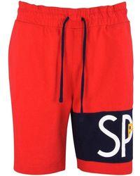 Polo Ralph Lauren Red Sport Tennis Style Jogger Shorts