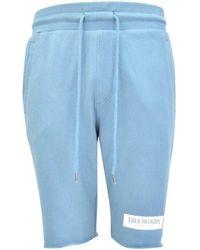 True Religion Blue Welt Pocket Shorts