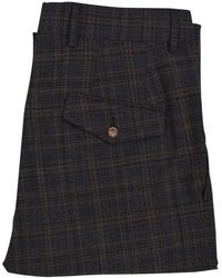 Vivienne Westwood Brown Check Suit Pants - Multicolour