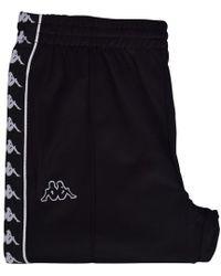 Kappa Black Banda Astoria Slim Sweatpants