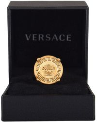 Versace - Medusa Signet Ring - Lyst