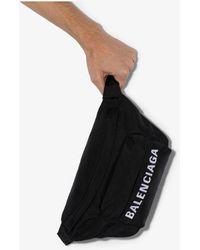 Balenciaga Black Wheel Belt Bag