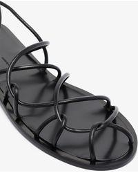 Khaite Lyon Strappy Sandals - Black