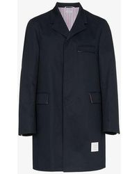 Thom Browne - Unconstructed Cotton Overcoat - Lyst