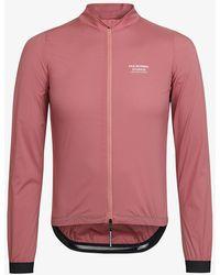 Pas Normal Studios Pink Stow Away Jacket - Red