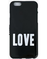 Givenchy Love Print Iphone 6 Case - Black