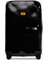 Crash Baggage Black Icon Large Rolling Suitcase