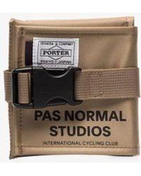Pas Normal Studios X Porter-yoshida & Co. Saddle Bag - Brown