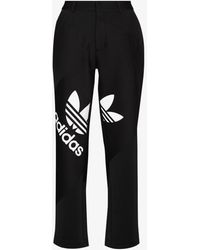 adidas X Dry Clean Only Trefoil Suit Track Trousers - Black