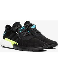 adidas - Black, Blue And Yellow Pod-s3.1 Trainers - Lyst
