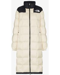 The North Face Lhotse Long Puffer Coat - White