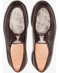 Paraboot Michael Vache Derby Shoes - Brown
