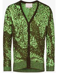 Paria Farzaneh Iranian Motif Cardigan - Green