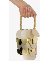 Vanina Silver And Les Boutons D'or Mini Bag - Metallic
