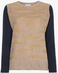Dries Van Noten - Metallic Cotton-blend Jacquard Top - Lyst